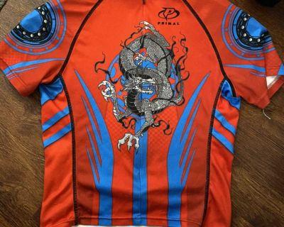 Primal Sz S Bike tshirt with 3 back pockets