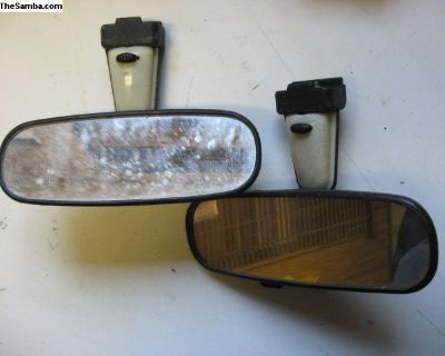 Convertible Rear View Mirror
