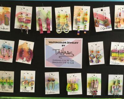 Handmade Earrings Brand NEW!