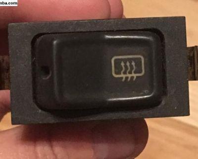 Rear window defrost switch