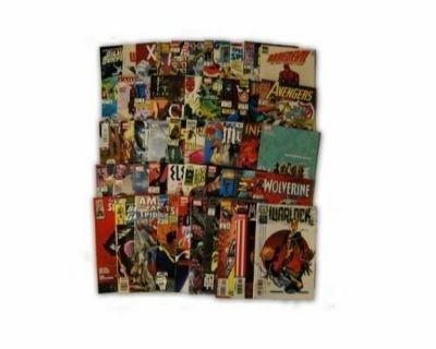 Wanted: comic books