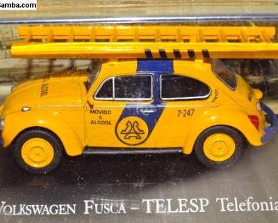 Atlas 1/43 VW Beetle Fusca Telephone Service