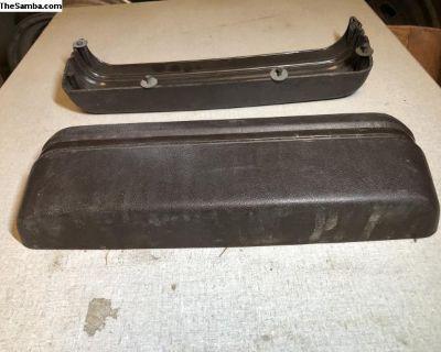 Vanagon black door panel pocket 85-90