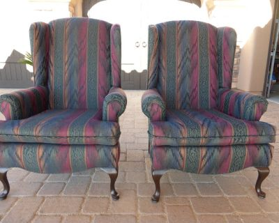 Wingback Chairs (x2)