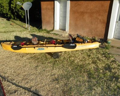 Hobie Mirage Outfitter Two person Kayak, mirage drive