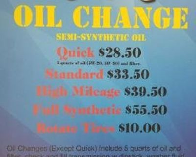 Quick Oil Change Service in Humble, Texas