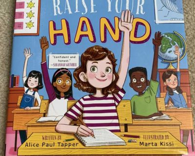 Raise Your Hand Hardcover Book