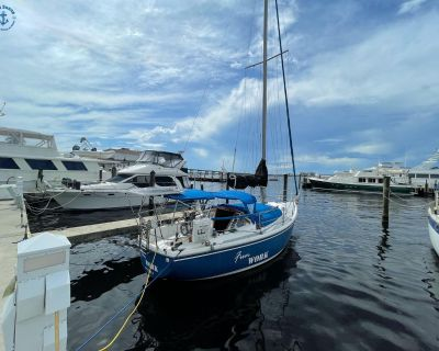 1979 29' Catalina 30 Tall Rig Cutter Rigged