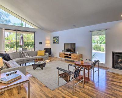 NEW! Chic Condo w/Patios + Pool Access By Downtown - Palm Springs