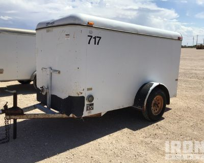 1997 Contract Manufacturer S/A Enclosed Utility Trailer