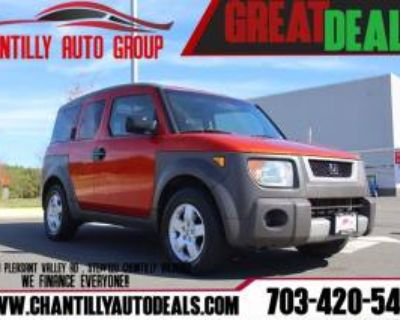 2003 Honda Element EX with Side Airbags 4WD Automatic
