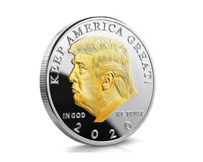 FREE Trump 2020 Gold Plated Coin