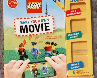 #MOVING SALE# LEGO MAKE YOUR OWN MOVIE