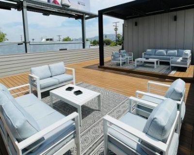 Modern Rooftop Deck & Lounge, North Hollywood, CA