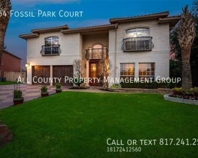 Luxury Living in Keller ISD with private backyard oasis!