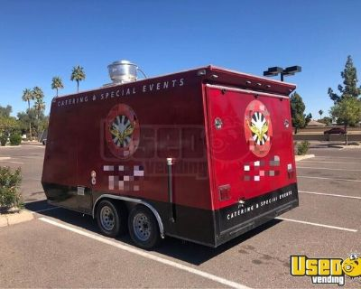 Used Street Food Concession Trailer / Ready to Operate Mobile Kitchen