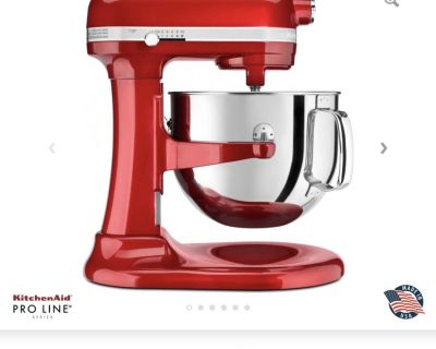 LOOKING FOR: 7 quart kitchenaid stand mixer