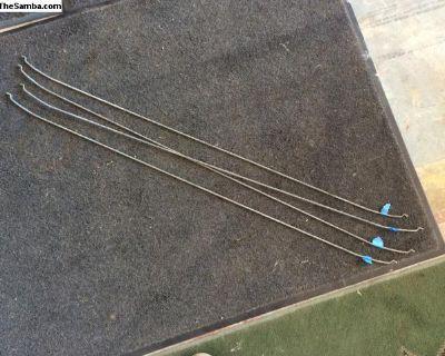 Headliner bows, Karmann Ghia, set