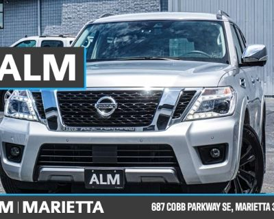 Pre-Owned 2019 Nissan Armada Platinum With Navigation & AWD