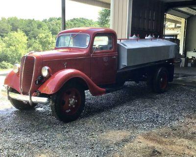 1937 Ford tanker truck