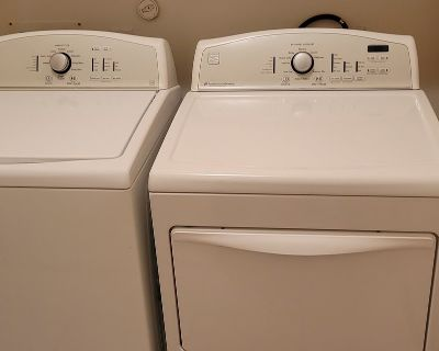 Washer & Dryer High Efficiencly