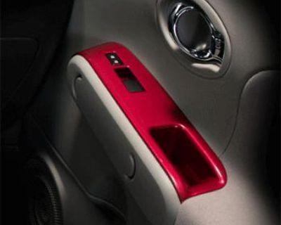 2010-2011 Nissan Cube Interior Trim Appliques Super Black Oem