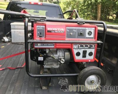 FS Honda eb5000x generator