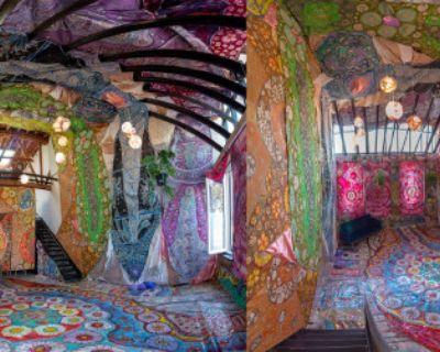 Art Installation & Gallery - colorful, immersive, psychedelic, artist dream loft, Los Angeles, CA