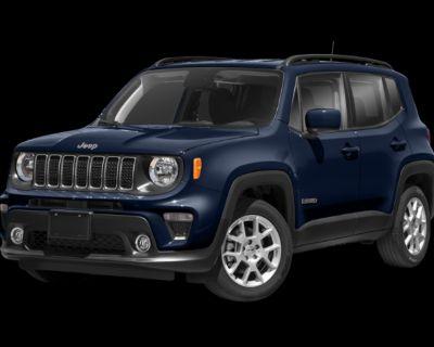 New 2021 Jeep Renegade Latitude 4WD