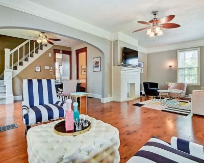 Designer House 5BR! Steps to Downtown/Fountain Sq! - Indianapolis