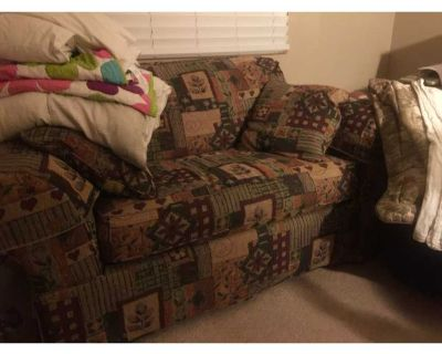 Like new twin sleeper sofa