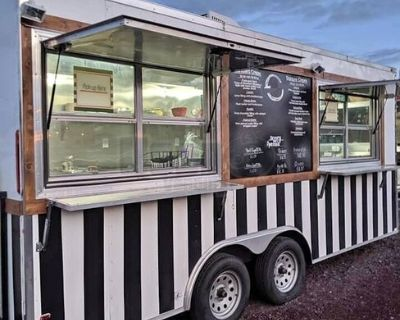 2019 Turnkey 8.5' x 18' Crepes Concession Trailer Mobile Food Unit