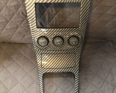 03-04 SG Carbon Fiber Hydrodipped Center Console, Shifter Surround, and Fuse Box Cover