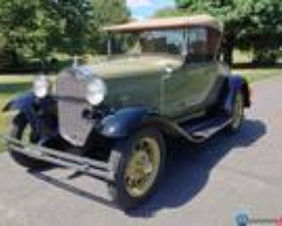 1931 Ford Model A Green