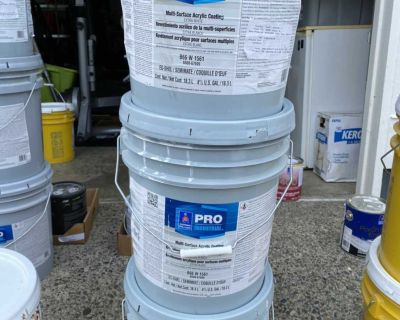 15 gallons paint-unopened