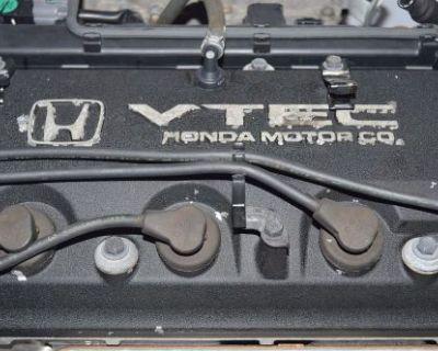 98 99 2000 2001 2002 Jdm F23a Honda Accord 2.3l Vtec Engine F23a1 Motor Only