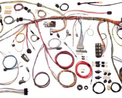 Aaw 1970 Ford Mustang Wire Wiring Harness 510243
