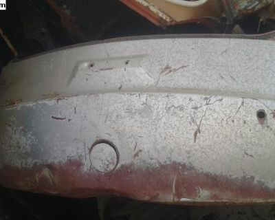 Type 3 front apron spare tire area 1967 solid