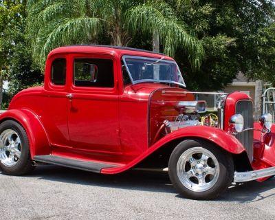 1932 Chevrolet 5 Window All-Steel Coupe Hi-Boy Restored Engine Swap
