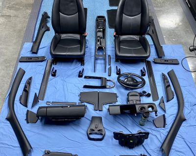 Wow! 997 or 987 Black Interior Parts. In great shape.