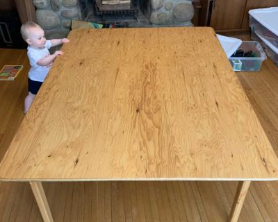 Large Kids Activity / Craft / Train / Puzzle Table
