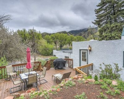 1BR|Manitou Spring Cottage Get Away - Manitou Springs Historic District