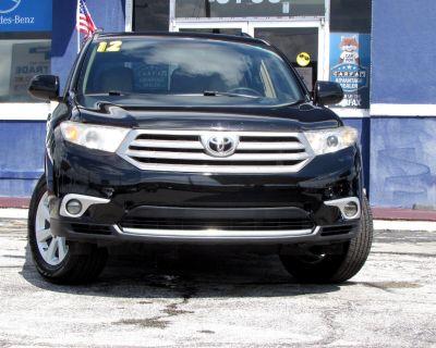 2012 Toyota Highlander 4WD 4dr V6 SE (Natl)