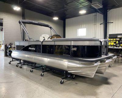 2021 Manitou 22 Aurora Angler LE FF Pontoon Boats Huron, OH