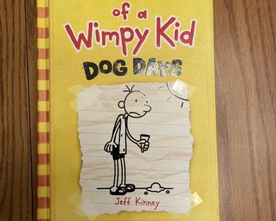 Diary of a Wimpy Kid - Dog Days - Hardcover