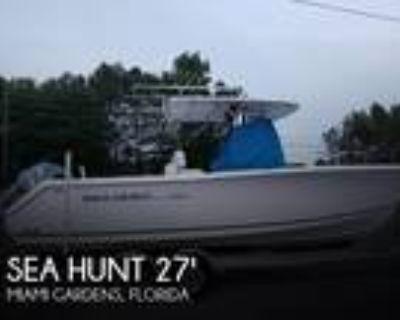 27 foot Sea Hunt 27 CC