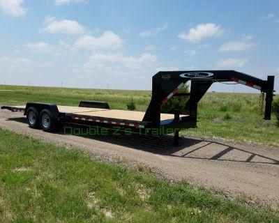 2021 Gooseneck 26' TILT car/truck/equipment trailer