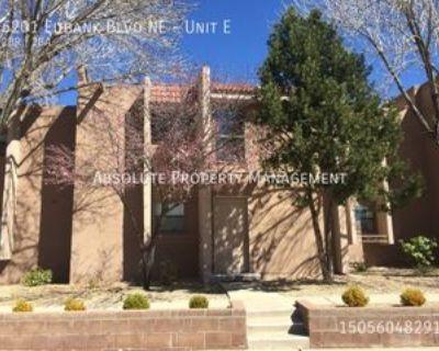 6201 Eubank Blvd Ne #E, Albuquerque, NM 87111 2 Bedroom Apartment