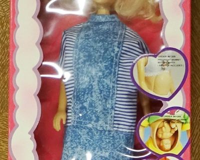 Mommy-to-be Doll -- new in box