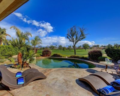 Desert Retreat - Private Pool & Spa on Private Golf Course Permit #065615 3bdrms - La Quinta